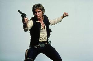 Harrison Ford som Han Solo i