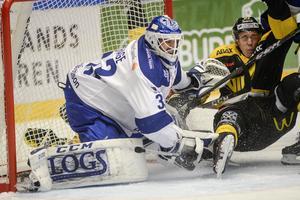 Axel Brage gör sin andra säsong i Leksand. Foto: Mikael Forslund/TT