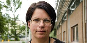 Anna Ramm, 42 år, civilutredare vid polisen, Liden.