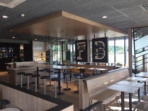 Restaurangen i Ulricehamn från insidan. Foto: McDonald's