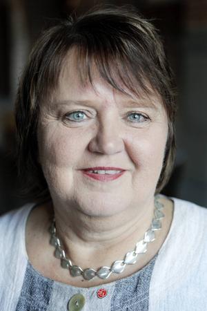AnnSofie Andersson (S), kommunalråd i Östersunds kommun.