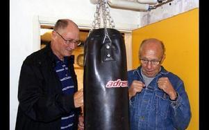 Ove Gustavsson och Janne Göransson tränade redan på 50-talet.FOTO: ANNA ENBOM