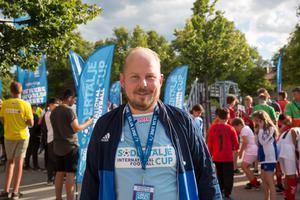 Johan Rolander är General Manager på SIFC. Han har sett fram emot veckan och hoppas att alla som kommer hit får en bra upplevelse.
