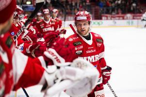 Sebastian Ohlsson blev målskytt mot Tingsryd, hans tredje mål den här säsongen i box play. Totalt har Ohlsson nu gjort sex mål och sex assist på 16 matcher.