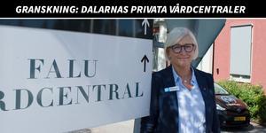 Maria Nyberg har arbetat på Falu vårdcentral i två månader.