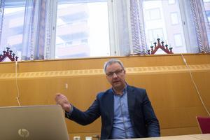 Ola Andersson, säkerhetschef vid Norrtälje kommun.