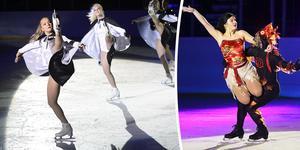 Konståkningsklubben Iskristallens isshow med Alexander och Nikolaj Majorov.