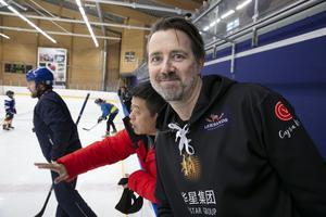 """""""Leksand är känd för sin hockeyskola"""", säger Lars Kristiansson."""