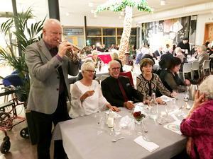Trumpetfanfararen Sören Strömberg höll tonen väl. Foto: Hans Norlund