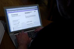 6,1 miljoner har deklarerat digitalt.Foto Bertil Enevåg Ericson / SCANPIX