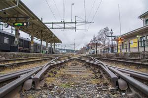 Järnvägsunderhållet fick ett abrupt slut tidigare i höst när Trafikverket uppmanade järnvägsföretagen att upphöra med arbetet. Bilden tagen i ett annat sammanhang.