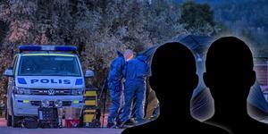 Två personer anhölls under natten mot lördagen på sannolika skäl misstänkta för mord. Foto: Niklas Hagman
