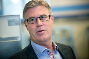 Lars Wiklund, vd på Pure Water Scandinavia. Han har jobbat med vattenrening i 30 års tid.