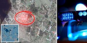 Två män och en kvinna misstänks för två inbrott i Tällberg, bland annat mot Siljansgården. En av männen häktades under fredagen misstänkt på sannolika skäl. Karta: Google