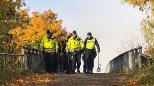 Den 11 oktober sökte polisen än en gång av platsen där Lena Wesström hittades. Ett antal föremål togs om hand och ska analyseras. Arkivfoto