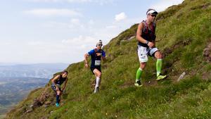 Att springa 22 kilometer trail är en utmaning för kroppen.