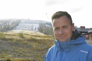 Johan Thorn är VD för Stöten som är den skidanläggning som ökat omsättningen mest av alla stora skidanläggningar  i Sverige.