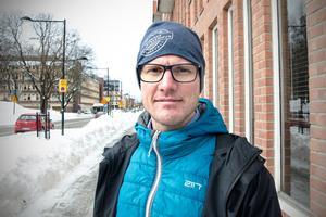 Torbjörn Palm, 40, försäkringstjänsteman, Sundsvall