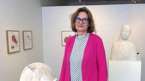 Camilla Bergman har sedan länge flyttat från Gävle men återkommer då och då till Gästrikland för utställningar.