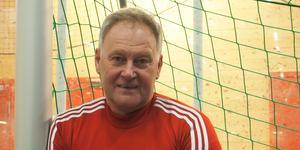 Rhonny Nilsson, tränare för Svegs IK:s division 5 lag.