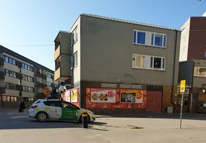 Här tar Googlebilen nya bilder av Kilsgatan. Läsarbild: Sofia Koivukorpi