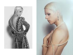 Modeformgivare och modell är Adam Swärd. Foto: Tony Ottosson
