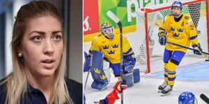 Erika Grahm hoppas få dra på sig landslagströjan snart igen. Bild: Fredrik Sandberg//TT.