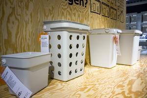 För återvinningen kommer behållaren Hållbart i en ny färg.
