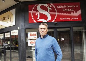Klubbens kansli ligger sedan fem år tillbaks på Köpmangatan i centrala Sandviken.