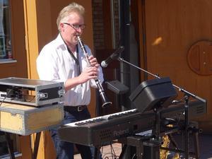 """I Mr Accer Bilks """"Stranger on the shore"""" kom klarinetten fram. Förhoppningsvis blir det vid fler tillfällen."""