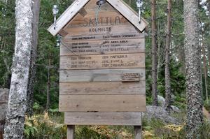 Alla de milor som tänts i Skyttla genom åren har ett kvinnonamn, det hör till, är en del av traditionen.