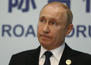 Den ryske presidenten Vladimir Putin.(Sergei Ilnitsky/Pool Photo via AP)