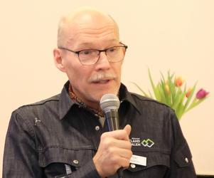 Mats Mäki, specialistläkare i allmän medicin, pratade om hälsa. Foto: Kerstin Andersson