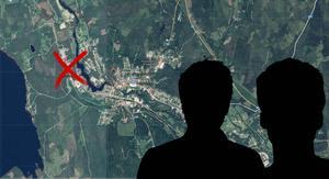Två män ska ha överfallit kvinnan vid ett industriområde i Kopparberg. Bilden är ett montage.