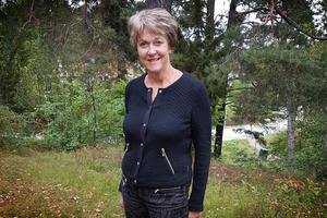 Katarina Wådell, ordförande för Undersviks hembygdsförening.  Foto: Privat
