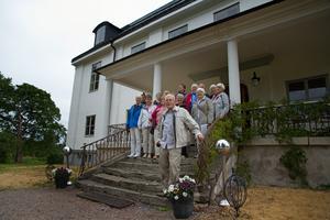 Lunchstoppet på Stjärnsunds herrgård är återkommande under Sven G Bergkvists guidade turer. Därifrån tar besökarna sig vidare till Polhemsmuseet.