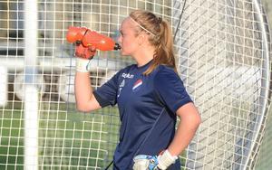Målvakten Jenny Wahlén fick stort beröm av tränaren Fredrik Bengtsson efter prestationen borta mot AIK.
