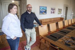 Ulrica Åsberg och Gusten Windelhed lutar sig mot en rutinerad valorganisation.