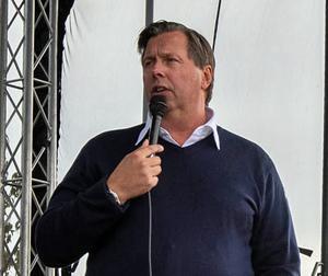 Thomas Johansson, Leksands GM. Foto: Daniel Eriksson/Bildbyrån
