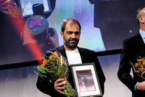 Ulrik Bergman prisades som Årets domare på Bandygalan 2017.