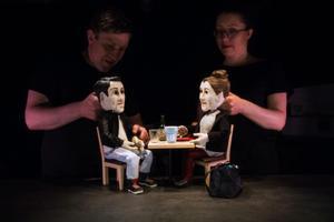 Karaktärerna Ali och Tove, i föreställningen