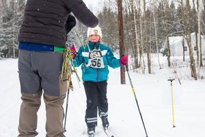Vilma Söderkvist har åkt mycket längdskidor i vinter.