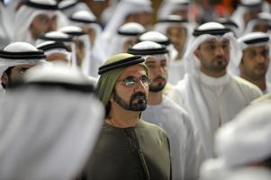 Shejk Mohammed bin Rashid Al Maktoum, emir av Dubai. Foto:Stephen Hindley/AP