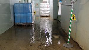 Enligt Parkbadets chef var det tio år sedan källaren översvämmades.