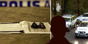 Han överlevde skjutningen i Kvarnsveden. Nu vittnar han i tingsrätten. Bilden är ett montage.