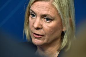 Finansminister Magdalena Andersson (S) slår ned på enskilt sparande.