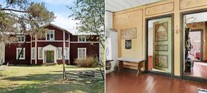 Nu säljs en gammal Västerbottensgård med anor från 1800-talet i Sävarberg. Foto: Fastighetsbyrån