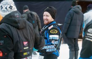 Martin Haarahiltunen ligger sjua i totalen i årets VM-serie i isracing.