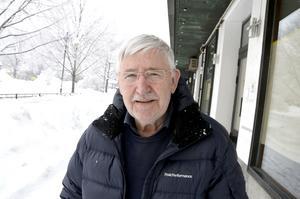 Gyrd Högman, 76, pensionär, Sundsvall: