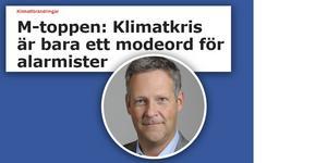 Jan Ericson (M) skrev en debattartikel tillsammans med Saila Quicklund (M). Nu undrar miljöpartister om hon delar Ericsons klimatskepticism.